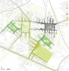 Gallery of Europan 11 Proposal: 'Multitalented City' / PUPA – 2 site plan Presentation Techniques, Project Presentation, Presentation Layout, Presentation Boards, Architectural Presentation, Architectural Models, Urban Design Diagram, Urban Design Plan, Plan Design