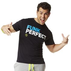 Funk Perfect Tee   Zumba Fitness Shop  Save 10 % off with Affiliate Code 10SALE http://www.zumba.com/en-US/store/US/affiliate?affil=10sale