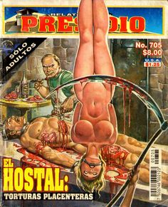 Mexican horror magazines Hostel