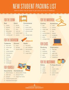 New student packing list college packing lists, college dorm essentials, college checklist, college College Dorm List, College Dorm Checklist, College Packing Lists, College Dorm Essentials, College Dorm Rooms, Packing Hacks, University Checklist, Uni Essentials, College Hacks