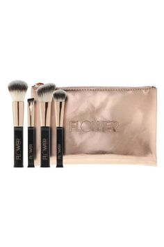 "<p><em>($17, <a rel=""nofollow"" href=""https://www.walmart.com/ip/Flower-Ultimate-Kabuki-Brush/53733584"">walmart.com</a>)</em></p><p>These brushes from Drew Barrymore's cosmetics line are the perfect stocking stuffer for your makeup-obsessed niece. The festive rose gold pouch makes wrapping it a cinch too.</p>"