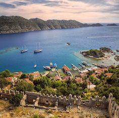 Kale köy-kaş antalya Mein Land, Antalya, Istanbul, Water, Outdoor, Turkey Country, Gripe Water, Outdoors, Outdoor Games