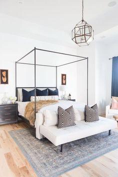 Clean lines//bedroom style