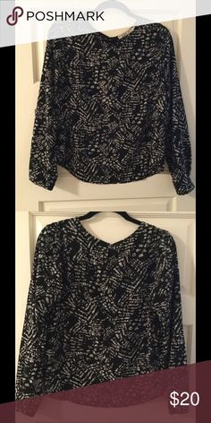 Nordstrom Chloe K blouse Size L Only worn a handful of times and hand washed. Very soft blouse. Feel free to ask me any questions or make an offer. Chloe K Tops Blouses