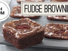 Bake With Anna Olson TV Show recipes on Food Network Canada; your exclusive source for the latest Bake With Anna Olson recipes and cooking guides. Anna Olson, Fudgy Brownie Recipe, Chocolate Fudge Brownies, No Bake Brownies, Brownie Pan, Food Network Uk, Food Network Canada, Food Network Recipes, Brownie Recipes