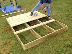 """How to Build a Deluxe Playhouse"" from DIY Network ... Approx. $250-500 cost"