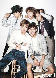 B1A4 - @ Star1 Magazine September Issue '14