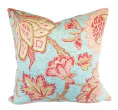 Your place to buy and sell all things handmade Modern Throw Pillows, Floral Throw Pillows, Colorful Pillows, Toss Pillows, Ticking Fabric, Ticking Stripe, Jacobean, Handmade Home Decor, Decorative Pillow Covers