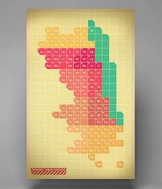 Periodic Chicago by vigilism on Etsy