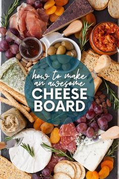 Cheese boards are always crowd-pleasers! Learn how to make a cheese board in just a few minutes with our no-fuss tutorial.