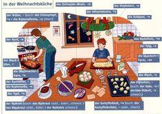 In der Weihnachtsküche