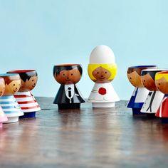 New handmade Lucie Kaas eggcups