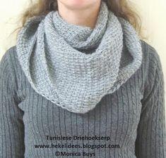 Hekel Idees: Tunisiese Hekel: Driehoek Serp Granny Square Crochet Pattern, Crochet Patterns, Afrikaans, Fashion, Moda, Fashion Styles, Crochet Pattern, Crochet Tutorials, Fashion Illustrations