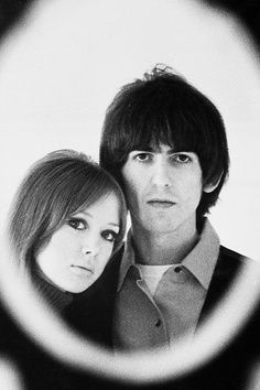 George and Pattie Harrison's iconic cameo
