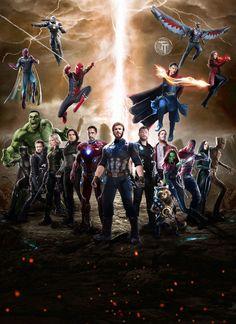 Avengers infinity war HD Poster