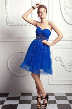 (CLICK IMAGE TWICE FOR DETAILS AND PRICING) #women #womendresses #eveninggown #cocktaildress #wedding #weddinggown #eveningdresses #prom Amazing A-line Sweetheart Knee-length Organza Homecoming Dress SAL1726-TB - See More Sweetheart Womens Dresses at http://www.zbrands.com/Sweetheart-Womens-Dresses-C61.aspx