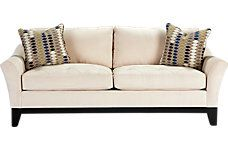 Shop for a Cindy Crawford Home Avery Place Hemp Apartment Sofa at