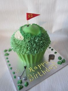 Giant cupcakes take center stage in our latest top cakes post. Decorated for all occasions, the giant cupcake is a versatile cake your. Giant Cupcake Mould, Big Cupcake, Giant Cupcake Cakes, Cupcake Cake Designs, Cupcake Cookies, Cupcake Ideas, Cupcake Recipes, Dessert Ideas, Golf Cupcakes