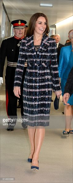 Catherine, Duchess of Cambridge visits the National Graphene Institute at the University of Manchester during a visit to Manchester on October 14, 2016 in Manchester, England.