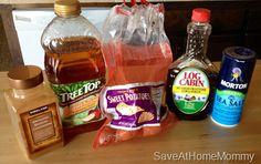 Simple 5 Ingredient Fall Side Dish Recipe! YUMMY Sweet Potatoes!