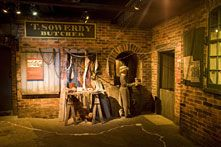 The museum houses a re-created street from 1842, full of the sights, sounds and smells of Victorian Leeds