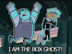 Our babysitter is a Ghost (Gravity Falls and Danny Phantom fan fiction) - Chapter I Am The Box Ghost Danny Phantom Funny, Phantom 3, Ghost Boy, The Other Guys, Fans, Catch Em All, Fan Art, Cultura Pop, Gravity Falls