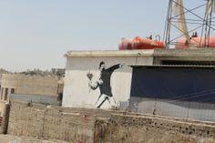 Banksy – Jake Around the World Throughout The World, Around The Worlds, Bethlehem, Banksy, Street Art, Nativity