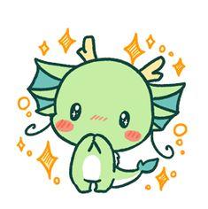 Bilderesultat for kawaii dragon Cute Kawaii Drawings, Kawaii Doodles, Cute Animal Drawings, Dragon Chibi, Dragon Art, Griffonnages Kawaii, Arte Do Kawaii, Skunk Drawing, Cute Dragon Drawing