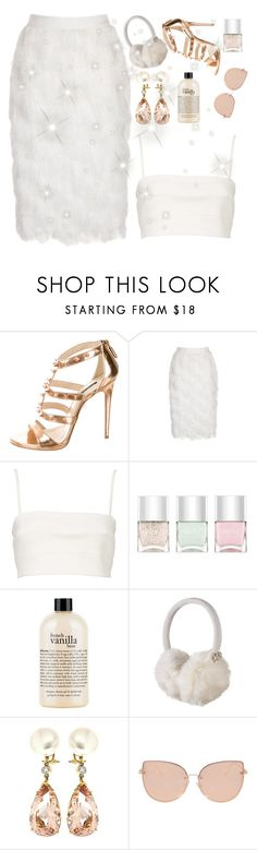"""""""Scream queens ♡"""" by faanciella on Polyvore featuring Ruthie Davis, Witchery, Nails Inc., philosophy, KitSound, Valentin Magro and Topshop"""