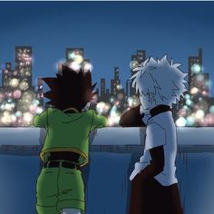 gon and killua, hunter x hunter
