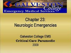 ch23  by rprue via authorSTREAM Emergency Medical Services, Power Points, Critical Care, Presentation, Education, Onderwijs, Learning, Electrical Outlets
