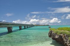 """You can see beautiful island """"Miyako-island"""" in Okinawa"""