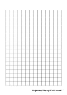 Folio cuadriculado de 1,25 cm Modelo Curriculum, Best Weekly Planner, Bullet Journal Paper, Printable Graph Paper, Paper Frames, Writing Paper, Note Paper, Plastic Canvas Patterns, Free Prints