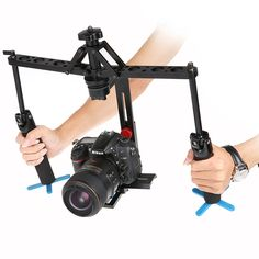 >> Click to Buy << 2017 New Black Handheld Spider Stabilizer Video Steadicam Steady Rig for DSLR Camera Camcorder Fast transport Free shipping #Affiliate