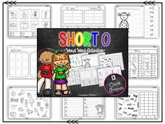 Short o word work activities