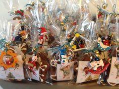 Gingerbread cookies treat bags
