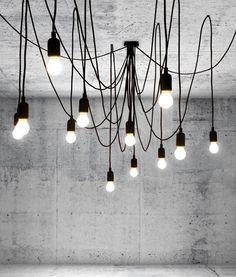 Suspension Maman 14 ampoules LED incluses