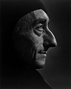 Jacques Cousteau 1972  photo by Yousuf Karsh