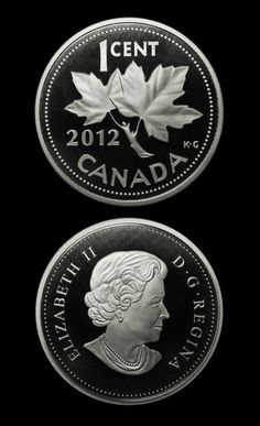 2012 - 5oz. Silver Canadian Cent - Commemorative Proof - kmscoin.com