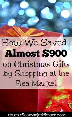 So excited about how much we saved on Christmas gifts this year!