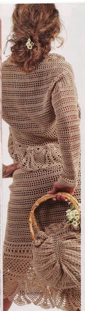 Crochet Skirt and Jacket….