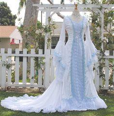 Narnia Stil Victoria samt und Spitze Fantasie von RomanticThreads