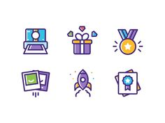 Illustrations designed by Dmitri Litvinov. Connect with them on Dribbble; the global community for designers and creative professionals. Flat Design Icons, Graphic Design Tips, Icon Design, Small Icons, Outline Illustration, Best Icons, Material Design, Design Reference, Icon Set