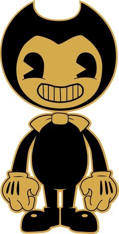 The cutout of Bendy