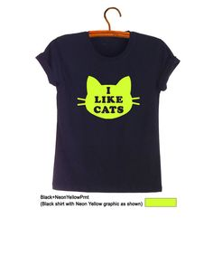 Cat T-Shirts Women Tee Shirts Funny Shirts Hipster Cute Graphic Tee Tumblr Clothing Unisex Gift Instagram Teen Girl Fashion Clothing…