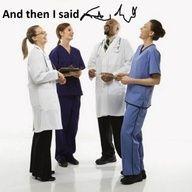Medical humor. Priceless :)