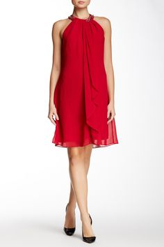 Necklace Halter Dress by SL Fashions on @HauteLook