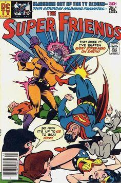 THE SUPER FRIENDS 3 DC COMICS
