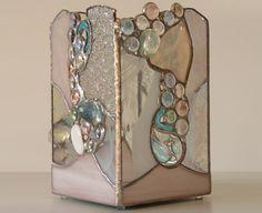 Shimmer Teardrop White Candlebox