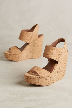 these are so me! Matiko Liza Cork Wedges #anthropologie